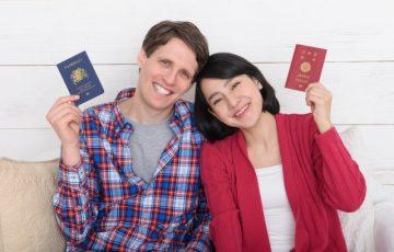 国際結婚イメージ